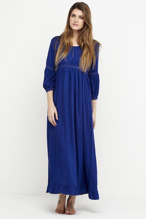vestido boho chic azulon 3