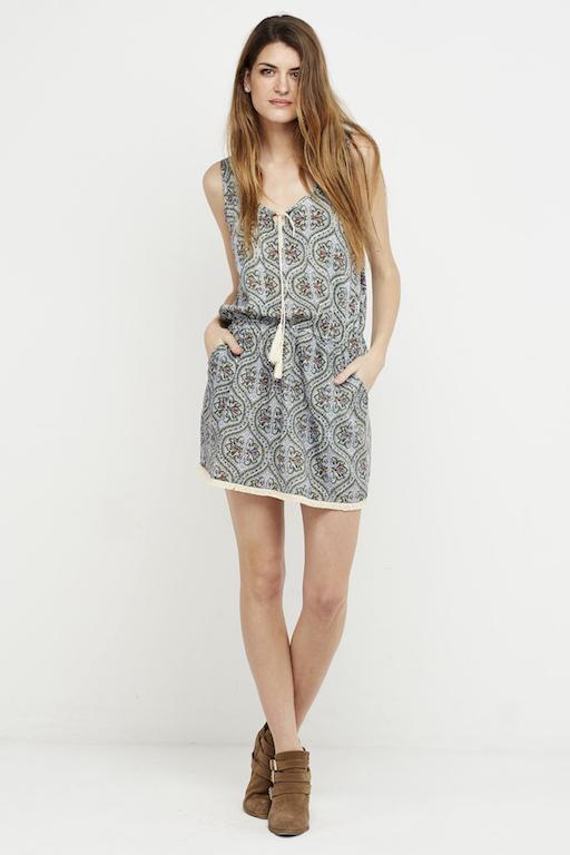 vestido corto boho ibiza