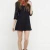 vestido corto negro croche 2