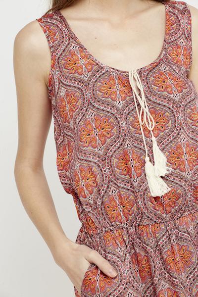 vestido ibiza coral boho chic corto