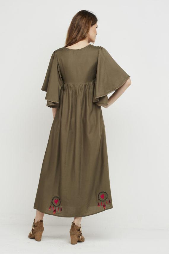vestido karma logo verde 4