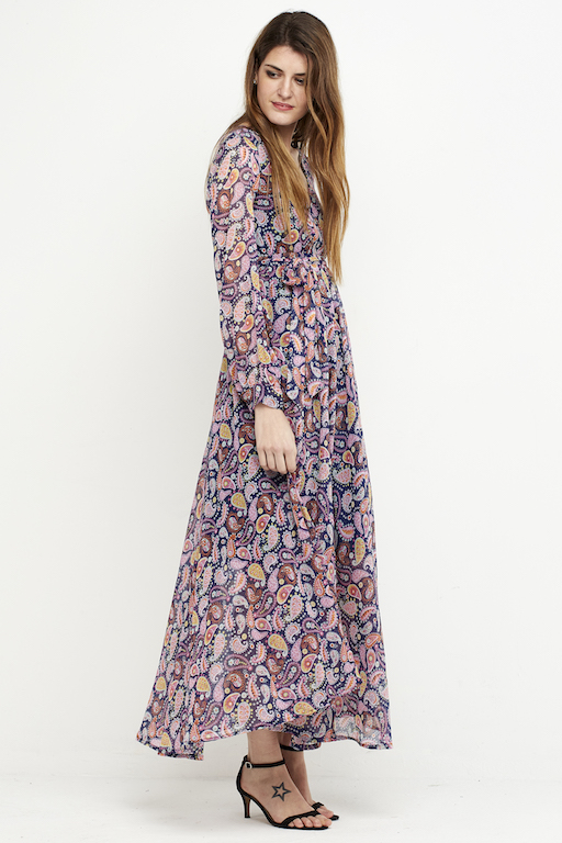 vestido largo boho gasa colores 2