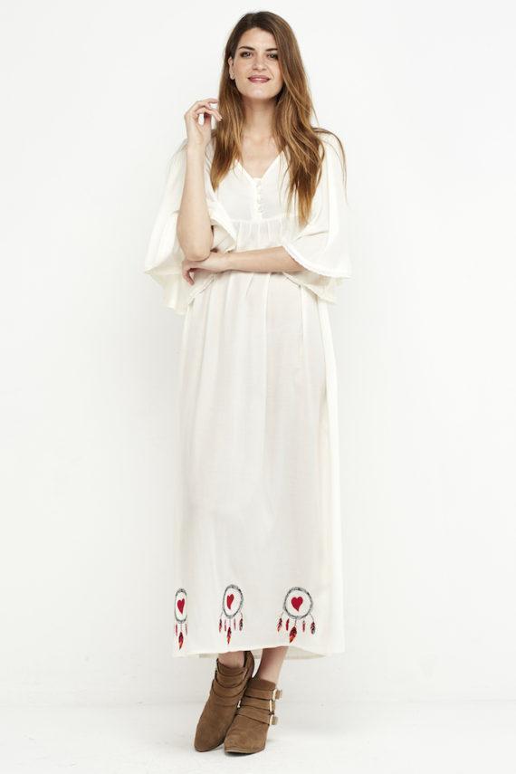 vestido largo boho logo blanco 1