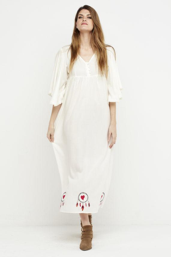 vestido largo boho logo blanco 2
