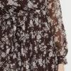 vestido largo boho marron 8