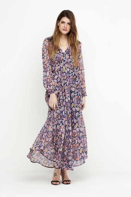 vestido largo gasa colores 1