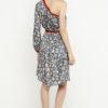 vestido corto boho hombro gris 5